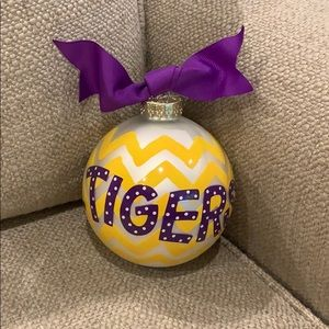 Coton Colors LSU Tigers Christmas Ornament